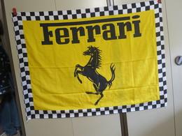 Mg E - Drapeau - Vlag -  Ferrarie - 1m31 Cm X 0m96 Cm - Car Racing - F1