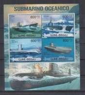 R89. Guine-Bissau - MNH - 2012 - Transport - Ships - Submarine - Boten