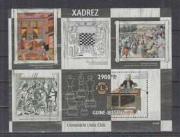 S89. Guine-Bissau - MNH - 2010 - Sport - Chess - Bl - Stamps