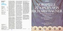 UNICUM. Superlimited Edition CD  Silvio Varviso&Staatskapelle Dresden. WAGNER. OPERNVORSPIELE - Opera