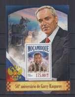 Y89. Mozambique - MNH - 2013 - Sport - Chess - Garry Kasparov - Bl - Stamps