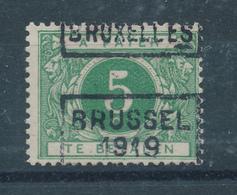 237/28 -- PREO Timbre-Taxe 5 C BRUXELLES 1919 - Catalogue Des Préos 2700 - Roller Precancels 1910-19
