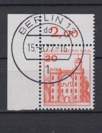 Berlin 533 Eckrand Links Oben 20 Pf Burgen+Schlösser  - Berlin (West)
