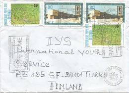 Congo 1985 Brazzaville PHILEXAFRIQUE III Lome Slogan Rat Hunting Cover - Filatelistische Tentoonstellingen