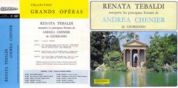 Superlimited Edition CD  Renata Tebaldi. GIORDANO. ANDREA CHENIER - Opera