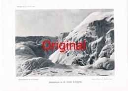 319-5 Riesengebirge Große Schneegrube Kunstblatt 1907 !! - Historische Dokumente