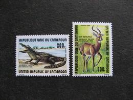 Cameroun : TB Paire N° 662 Et N° 663. GT . Neufs XX. - Cameroon (1960-...)