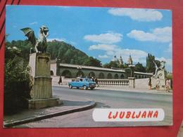Ljubljana / Laibach - Zmajski Most / Auto - Slovénie