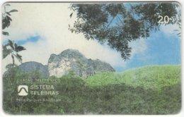 BRASIL E-696 Magnetic Telebras - Landscape, Mountain - Used - Brasilien