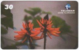 BRASIL G-742 Magnetic Telemar - Plant, Flower - Used - Brasilien