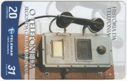 BRASIL G-749 Magnetic Telemar - Communication, Historic Telephone - Used - Brasilien