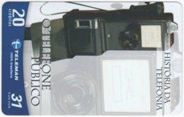 BRASIL G-750 Magnetic Telemar - Communication, Historic Telephone - Used - Brasilien