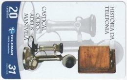 BRASIL G-751 Magnetic Telemar - Communication, Historic Telephone - Used - Brasilien