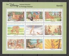 D315 GRENADA CARTOONS WALT DISNEY BAMBI 1KB MNH - Disney