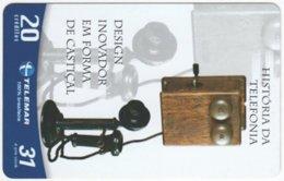 BRASIL G-752 Magnetic Telemar - Communication, Historic Telephone - Used - Brasilien