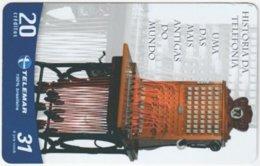 BRASIL G-753 Magnetic Telemar - Communication, Historic Telephone - Used - Brasilien