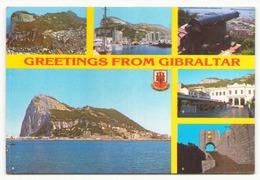 GIBRALTAR GREETINGS FROM - Gibraltar