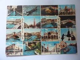 "Cartolina Viaggiata ""SALUTI DA VENEZIA"" 1981 - Venezia"