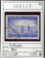 Syrien - Syrian Arab Republic - Syrie - Michel 841 - Oo Oblit. Used Gebruikt - Syria