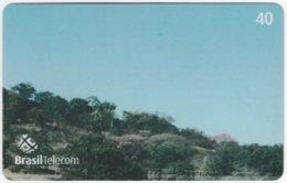 BRASIL G-796 Magnetic BrasilTelecom - Memorial Juscelino Kubitschek (Puzzle 2 Of 4) - Used - Brasilien