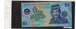 Banconota Brunei  1 Ringgit  UNC - Brunei