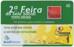 BRASIL G-807 Magnetic BrasilTelecom - Used - Brasilien