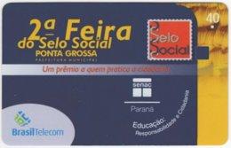BRASIL G-808 Magnetic BrasilTelecom - Used - Brasilien