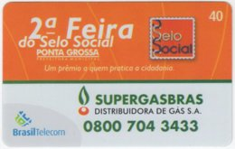 BRASIL G-809 Magnetic BrasilTelecom - Used - Brasilien