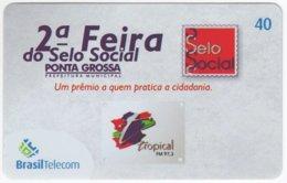 BRASIL G-810 Magnetic BrasilTelecom - Used - Brasilien
