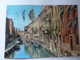 "Cartolina Viaggiata ""VENEZIA Rio S. Barnaba"" 1983 - Venezia"