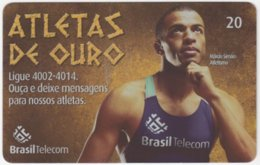 BRASIL G-817 Magnetic BrasilTelecom - Sport, Olympic Games, Goldmedal Winner - Used - Brasilien
