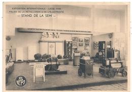 Cpm Belgique Liège Expo 1939  Stand De La SEM - Liege