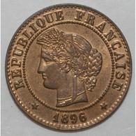 GADOURY 88 - 1 CENTIME 1896 A PARIS TYPE CERES - SUP+ - KM 826.1 - - France