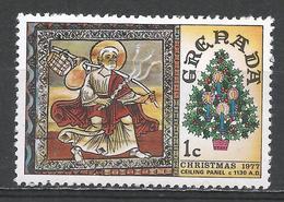 Grenada 1977. Scott #814 (MNH) Christmas, Ceiling Painting, St. Martin's Church, Zills * - Grenade (1974-...)