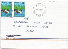 Congo 1994 Brazzaville Makelekele Northern Shoveler Duck Anas Clypeata Cover - Eenden