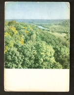 K. USSR Soviet Latvia Latvian SSR Nature Landscape View From The Turaida Castle Tower On The Gauja Dale Photo By Tiknuss - Lettonie