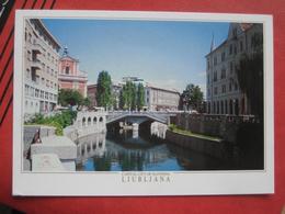 Ljubljana / Laibach - Ljubljanica - Slowenien