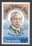Grenada 1978. Scott #827 (MNH) Christjaan Ejkman, Nobel Prize Winner * - Grenade (1974-...)