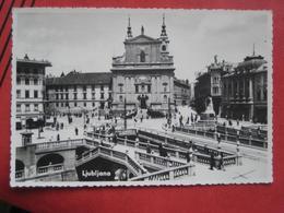 Ljubljana / Laibach - Tromostovje - Slowenien
