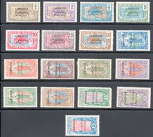 CAMEROUN / Postes N° 67 à 83 Neufs * - Cameroun (1915-1959)
