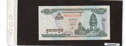 Banconota Cambogia 100 Riels  UNC - Cambodge