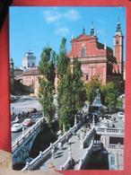 Ljubljana / Laibach - Tromostje - Slowenien