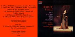 Superlimited Edition CD Montserrat Caballe. THE BEST OF CABALLE (1976) - Opéra & Opérette
