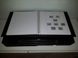 "MONACO : 5 RELIURES ""YVERT ET TELLIER"" AVEC POCHETTES INTEGREES + ETUI - PERIODE 1960 A 1998 - Albums & Reliures"