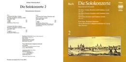 UNICUM. Superlimited Edition CD M.Pommer. BACH. REKONSTRUIERTE KONZERTE 2 - Classical