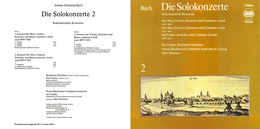 Superlimited Edition CD M.Pommer. BACH. REKONSTRUIERTE KONZERTE 2 - Classique