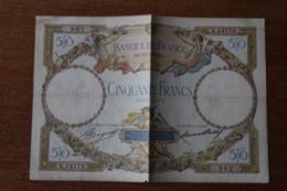 Billet   50 Francs  Luc Olivier Merson - 1871-1952 Anciens Francs Circulés Au XXème
