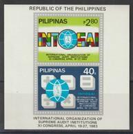 M 1023) Philippinen 1983 MI# Block 21: Internationaler Kongress Rechnungsprüfer - Jobs