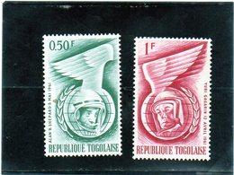B - 1962 Togo - Conquista Dello Spazio (linguellato) - Togo (1960-...)