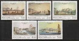 RUSSIE - N°6555/9 **  (2001) 300e Anniversaire De Saint Pétersbourg - 1992-.... Fédération